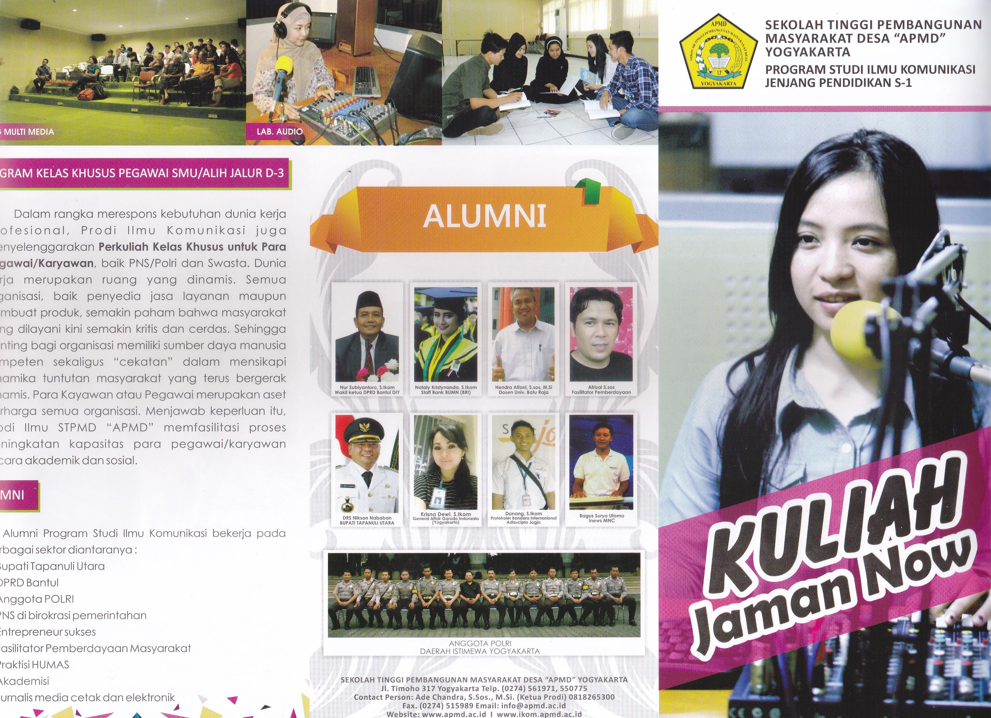 Leaflet PMB Prodi IKOM